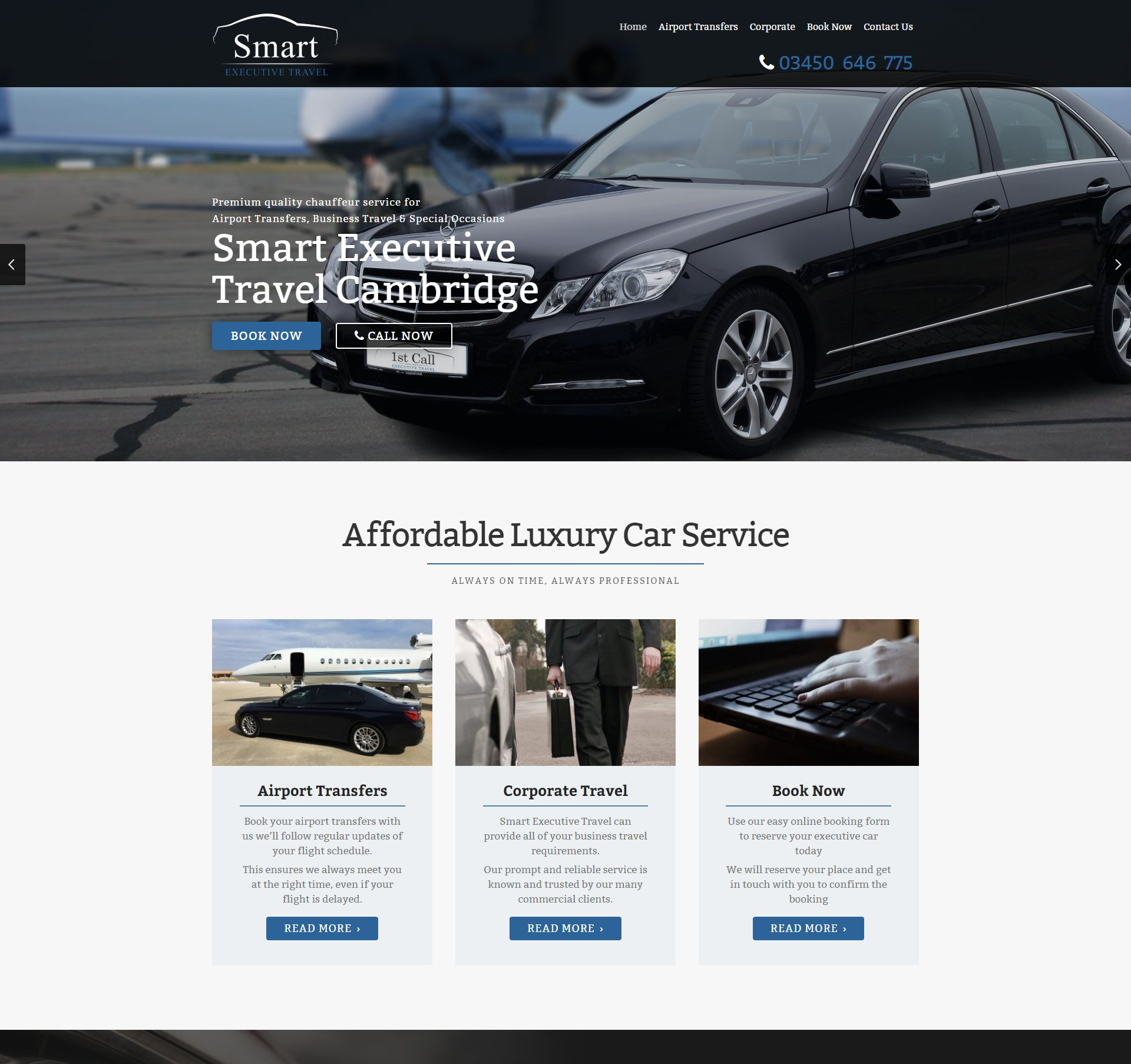Get a new website in [city]