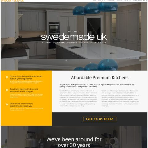 DIY website maker Southampton