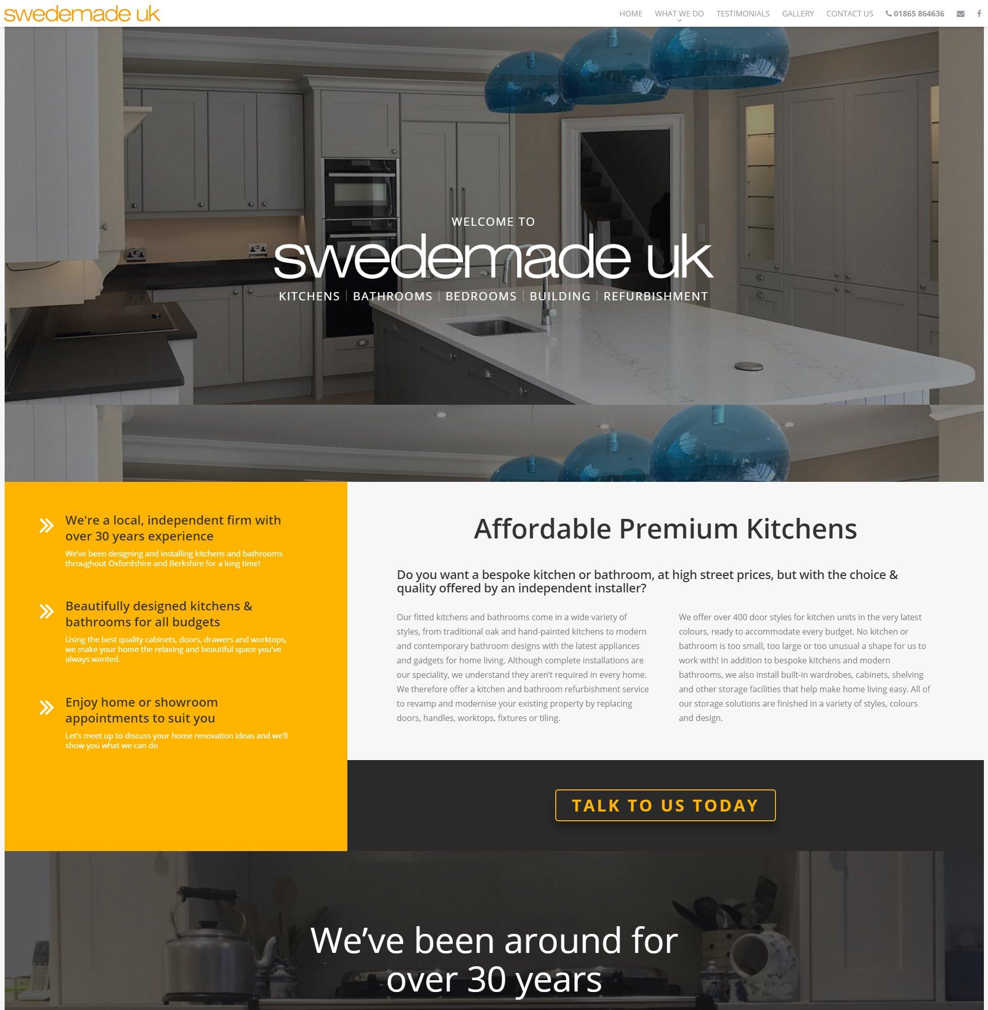 DIY website maker [city]