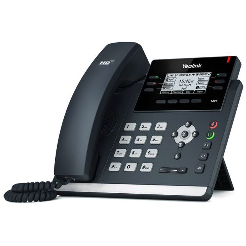 Buy Yealink T42s VoIP Desk Phone