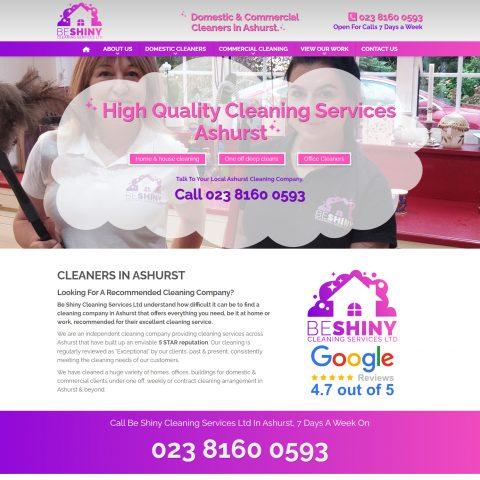 be shiny website design