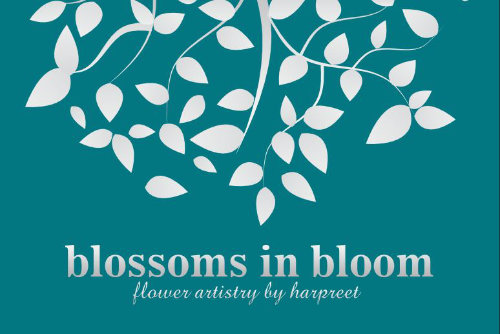 Blossoms in Bloom Business Card Design