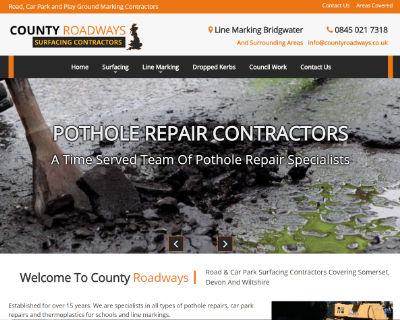 County Roadways website