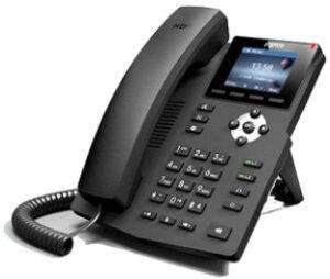 Fanvil X3SP Black VoIP Desktop phone with LCD colour screen