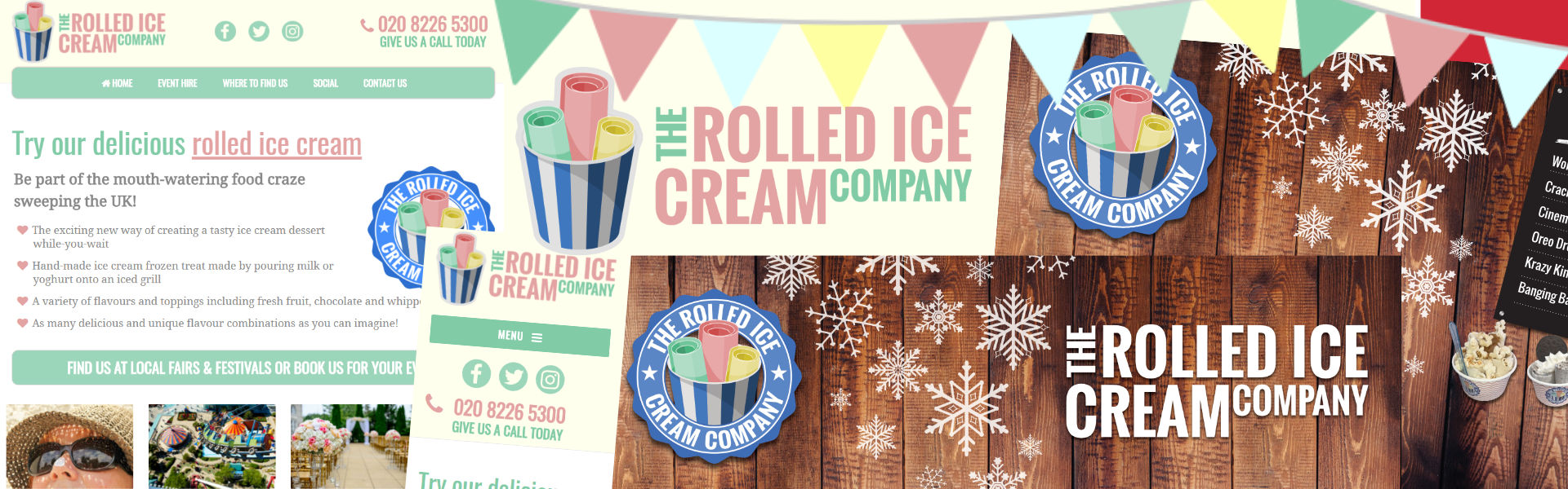 Rolled Ice Cream Design Case Study