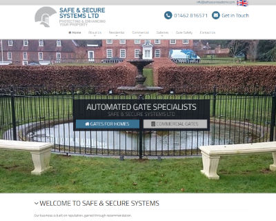 Safe and Secure Systems website