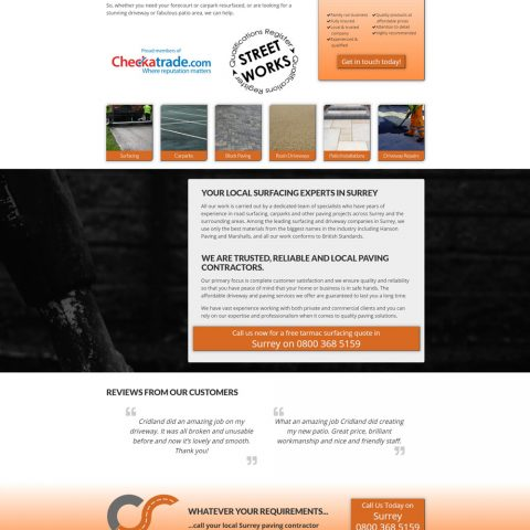 How much is website design in Southampton?
