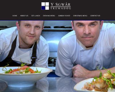 Y Sgwar Restaurant website